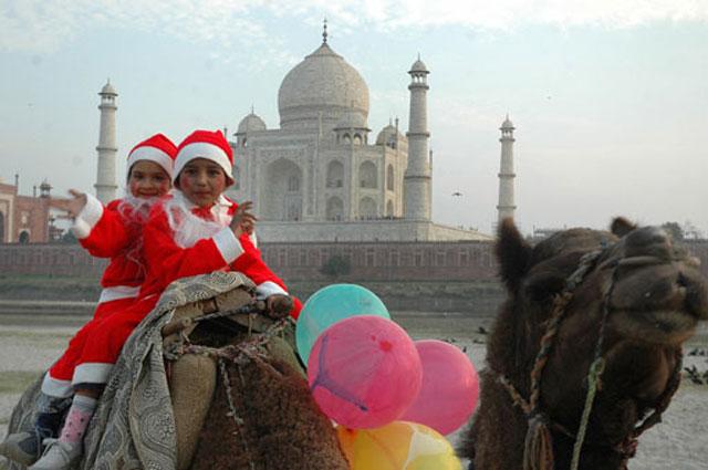рождество в Индии