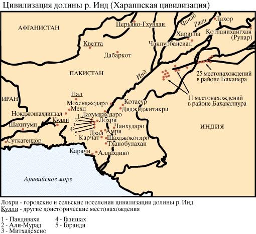 история индии. хараппская цивилизация