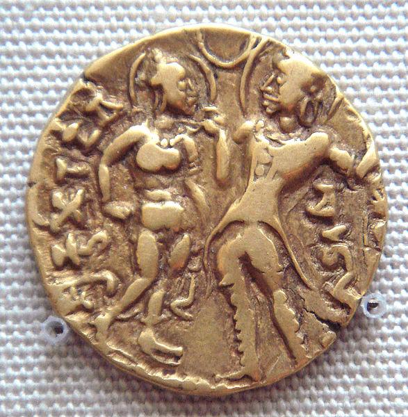 империя гуптов монета