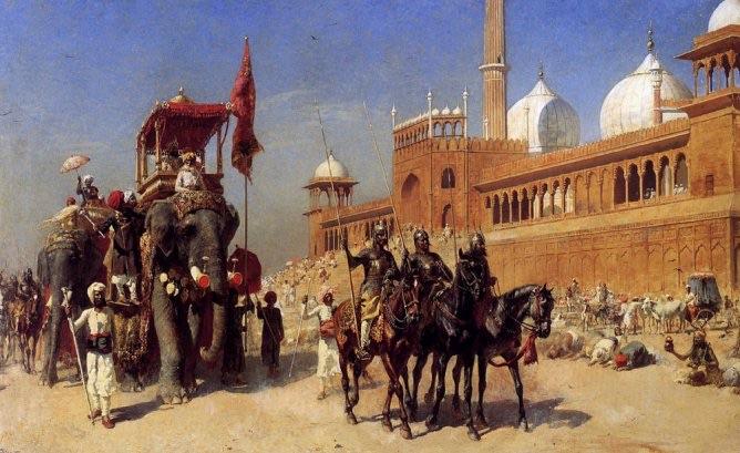История Индии: Династии Гуламов, Хилджи и Великих Моголов