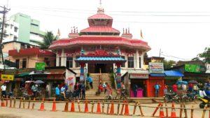Непальский храм в Индии