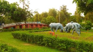 Парк Калакшетра. Гувахати