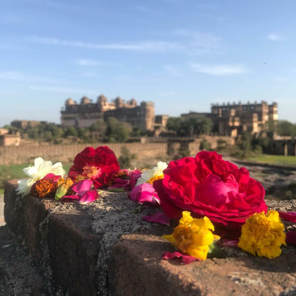 дворец в Орче в Индии