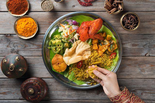 блюдо индийской кухни