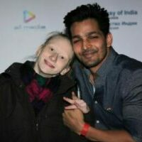indian actor and russian girl
