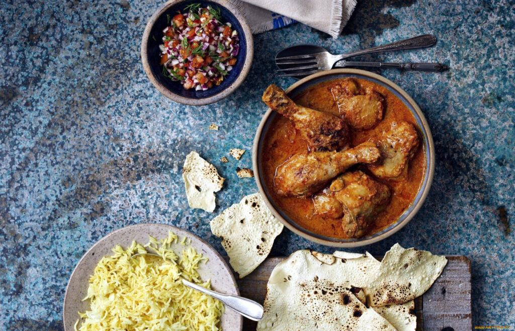 Блюда Индия Пенджаб Курица Тандури