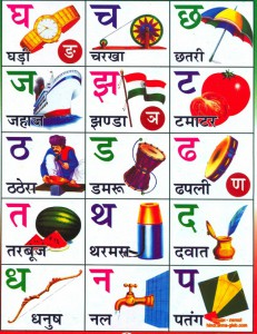 Хинди алфавит ч.2