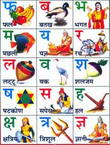 Хинди алфавит ч.3