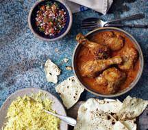 Традиционные Пенджабские блюда из тандури