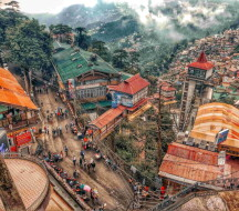 Почему стоит посетить Шимлу? Гималаи, Индия - Достопримечательности