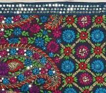 Цветочная сказка Пенджаба - вышивка