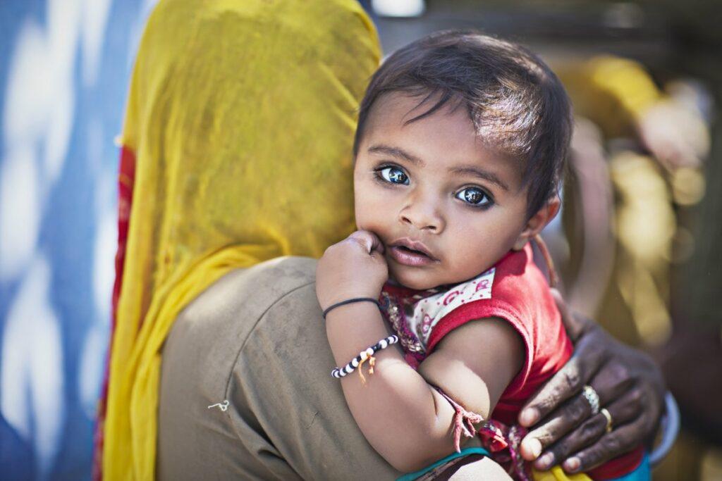 Ребенок Индия