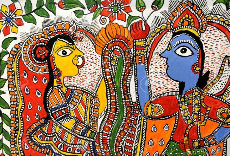 Индия живопись мадхубани