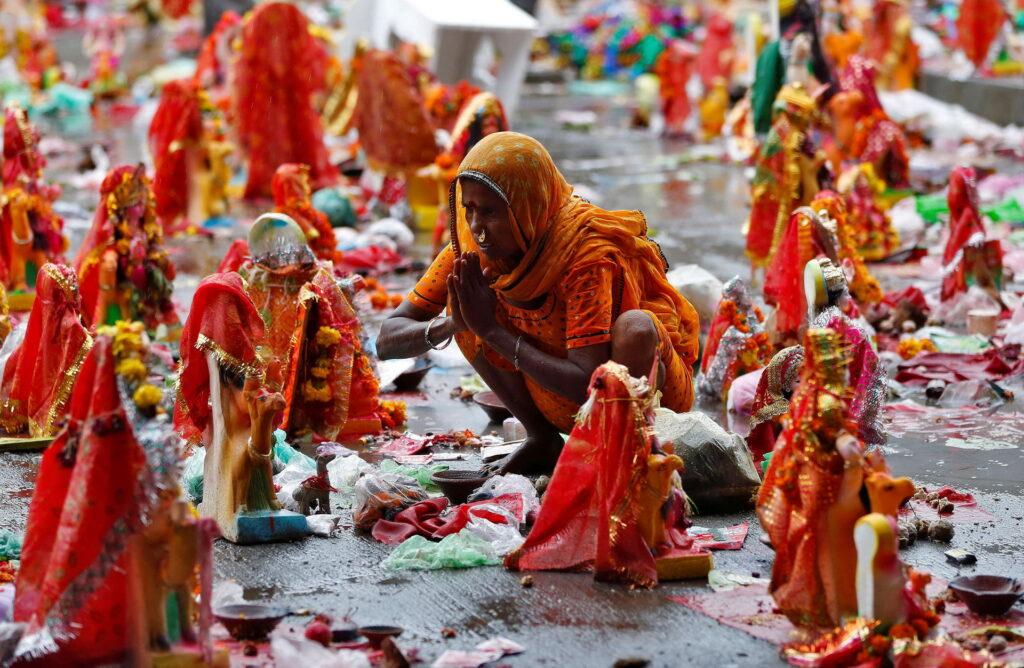 Индия индианка сари