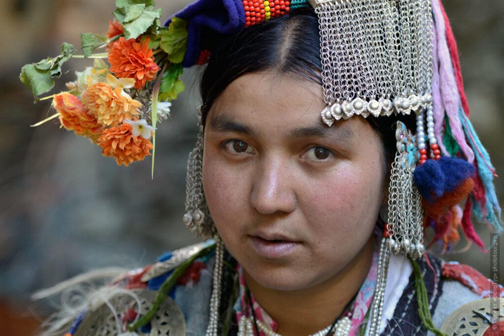 Ладакх Индия племя Брокпа