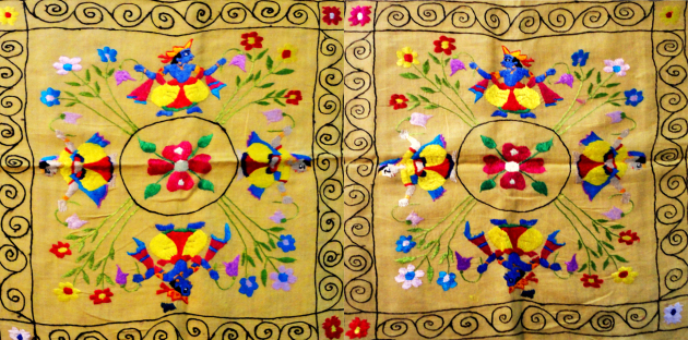 Чамба румал платок Индия Химачал Прадеш