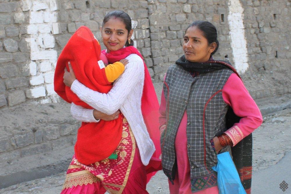 Индианки шаль Химачал-прадеш Индия
