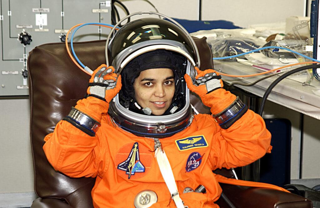 Калпана Чавла Индианка женщина космонавт