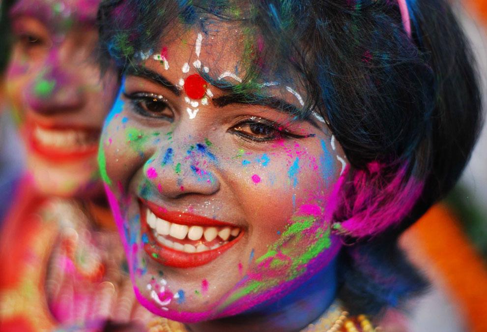 Хинди-легко Индия День Рождения Холи